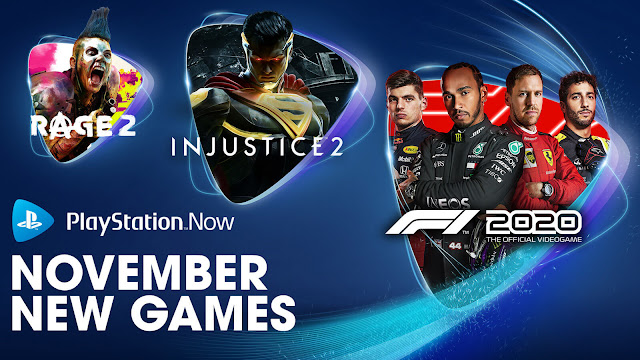 playstation now f1 2020 injustice 2 kingdom come deliverance rage 2 my time at portia warhammer vermintide 2 ps4 lineup november 2020 sony