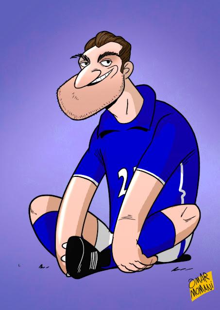 Bobo Christian Vieri cartoon