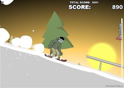 Downhill Snowboard 3 | Spiderman Games