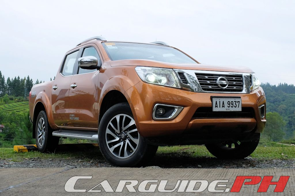 Review 2015 Nissan Np300 Navara 4x4 Vl At Philippine Car News