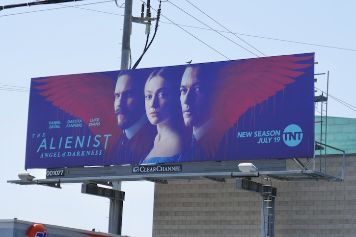 Alienist Angel of Darkness billboard