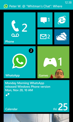 WP7 whatsapp