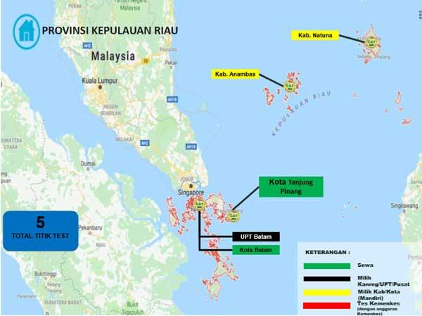 Lokasi Tes Cat BKN Propinsi Kepulauan Riau
