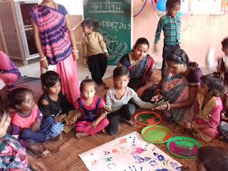 परियोजना स्तरीय बाल दिवस का आयोजन किया गया