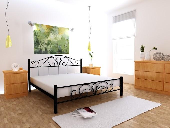 Кровать  металлическая Валенсия 120х190/200  ТМ MegaOpt