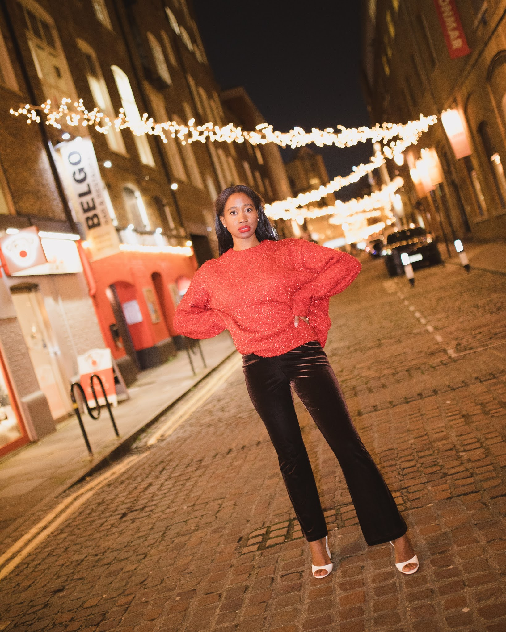 FESTIVE LOOK | THE SPARKLY CHRISTMAS JUMPER