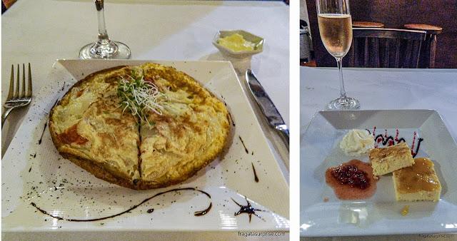 Restaurante El Rincón Gourmet, em Villa de Leyva, Colômbia