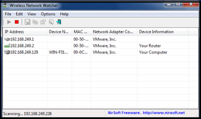 Wirless Network Watcher