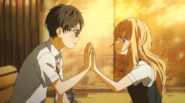 Pasangan Anime Terbaik - Arima Kousei X Kaori Miyazono