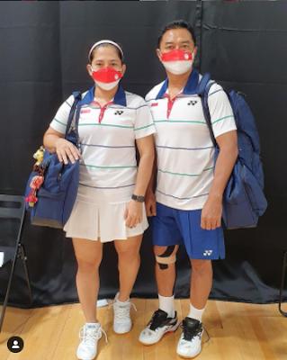 Profil Biodata Hary Susanto Disibilitas Sakit Apa Lengkap IG Instagram, Agama, Umur, Prestasi Atlet Badminton Ganda Campuran Indonesia