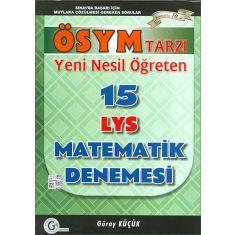 Gür Yeni Nesil Öğreten 15 LYS Matematik Denemesi