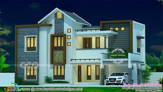 Beautiful 2065 square feet 5 bedroom modern home