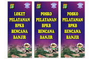 Posko Pelayanan BPKB Bencana Banjir Ditlantas Polda Metro Jaya