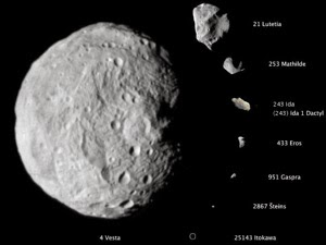Asteroidsscale_300 - Sự khác nhau giữa sao chổi và tiểu hành tinh là gì?