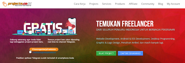 projects.co.id freelance