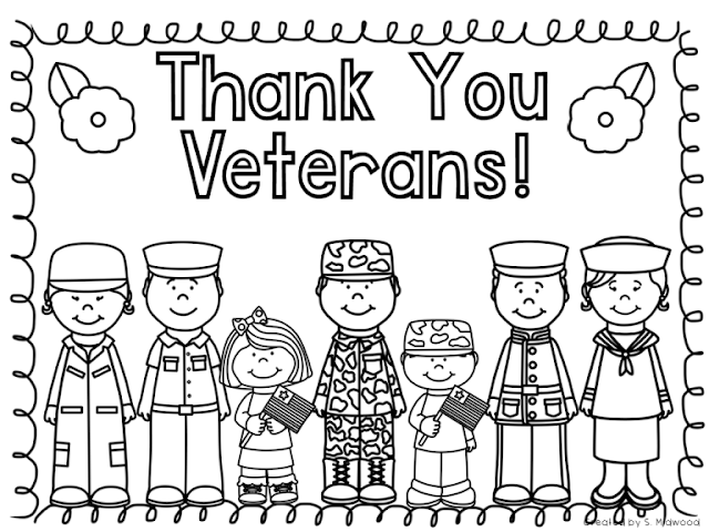 veterans day coloring sheets for elementary students