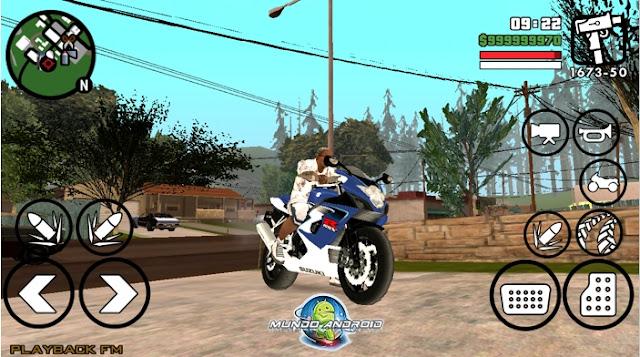 Visualización de Grand Theft Auto: San Andreas