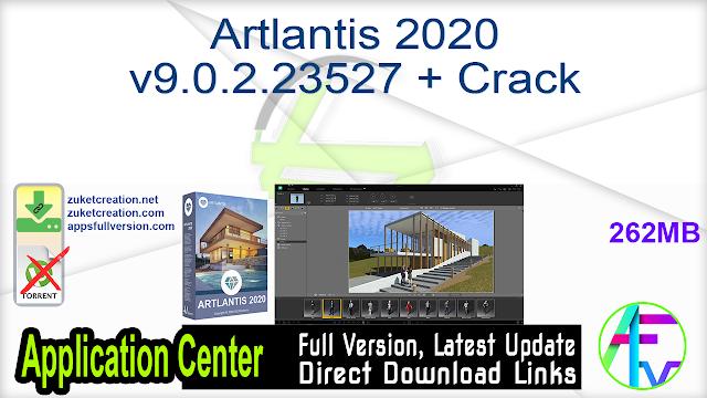 Artlantis 2020 v9.0.2.23527 + Crack