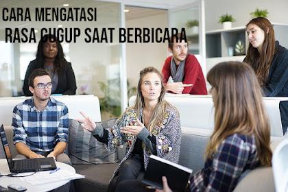 Cara Mengatasi Rasa Gugup Saat Berbicara | Tips Bisnis