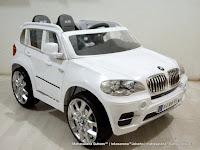Mobil Mainan Aki Junior JB15 BMW X5 SUV 2 Kursi Lisensi