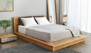 Gambar dipan kayu simple minimalis