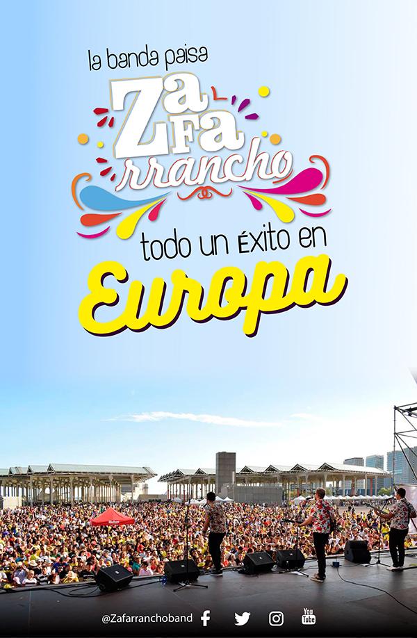 banda-paisa-Zafarrancho-Europa