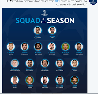 squad of the season