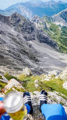 Schesaplana Rundtour Tag 1 | Brand – Oberzalim Hütte – Mannheimer Hütte | Hüttentour Rätikon 11