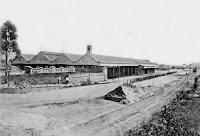 1898 - Ingreso a la Estacion en Corrientes y Wheelwright
