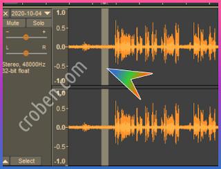 Croben.com Reduce Audio Noise Step 2