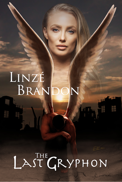 book cover image, The Last Gryphon by Linzé Brandon, fiction, romance