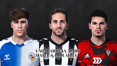 PES 2021 Facepack La Liga SmartBank Vol 14 by Dani