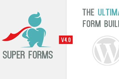 Download Super Forms v4.7.6.3 - Drag & Drop Form Builder