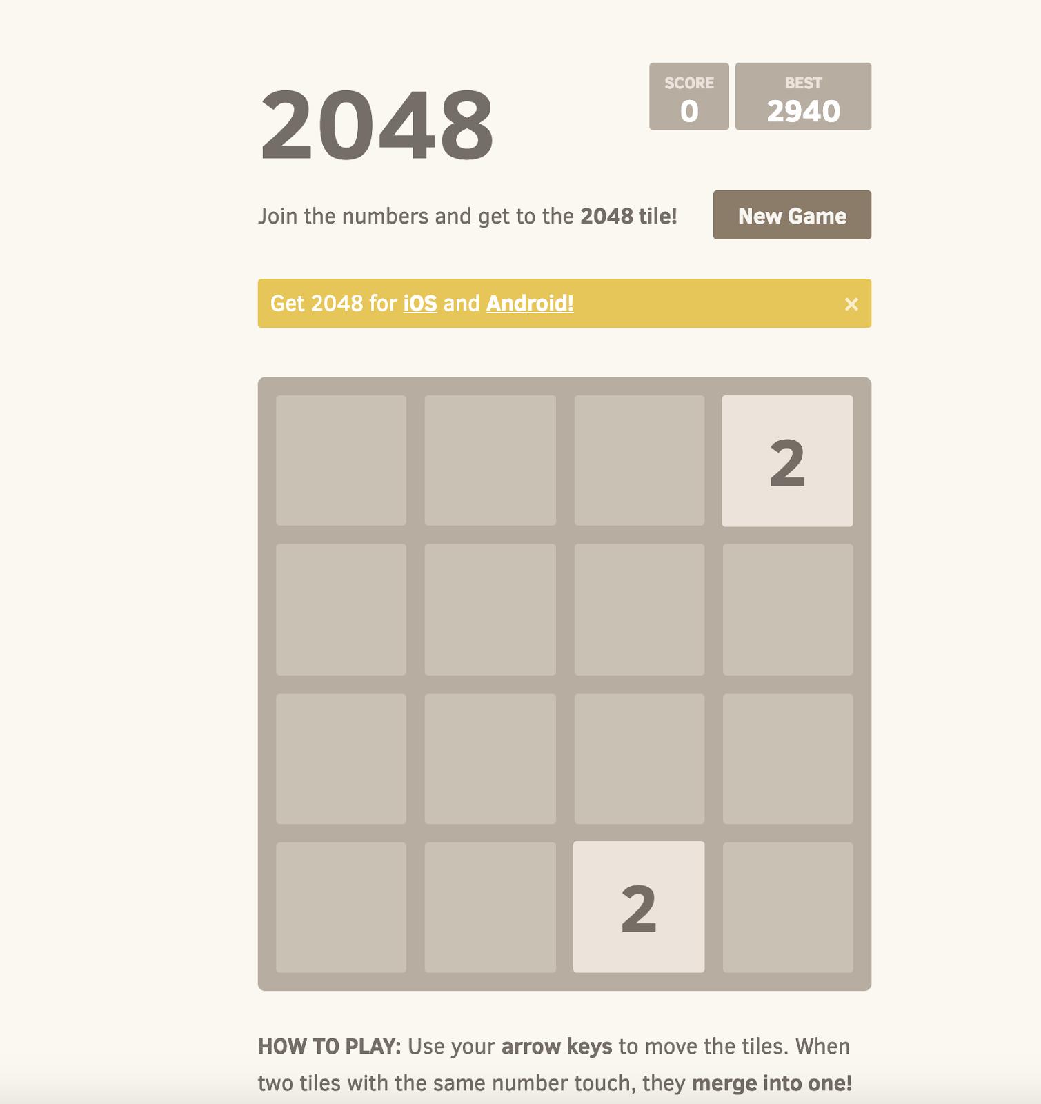 2048 (Online)