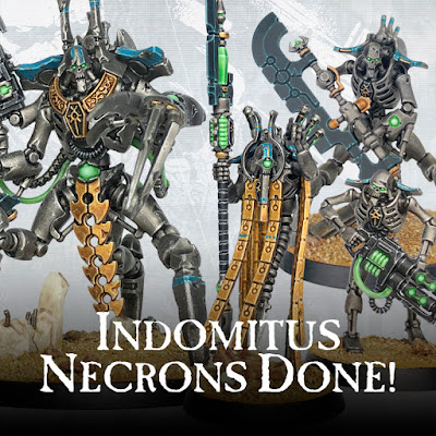 Indomitus Necrons Done