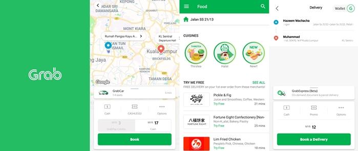 5 Perkhidmatan Penghantaran Makanan Terbaik di Malaysia