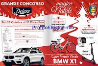 Logo LIDL Magico Natale Deluxe : vinci buoni spesa, bici, smartwatch, monopattini e BMW