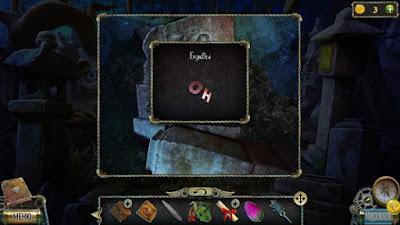 буквы выковыриваем из камня в игре тьма и пламя 3 темная сторона