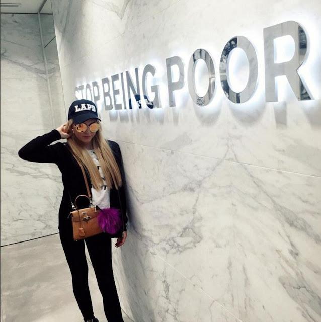 STOP BEING POOR Lana Scolaro.  PYGear.com