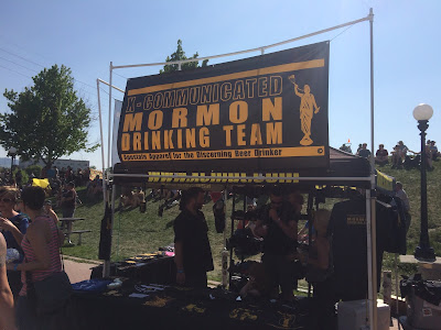 X-Communicated Mormon Drinking Team