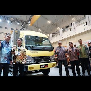 gambar foto Iwan Fals truk mitsubishi batik
