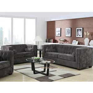 Set Kursi Sofa Tamu Jati Modern 3 2 1 + Meja Seri Cikini