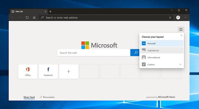 Новый браузер Microsoft Chromium Edge