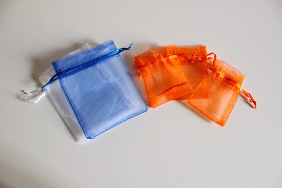 New Job Survival Kit  DIY Supplies Organza Fabric Pouch