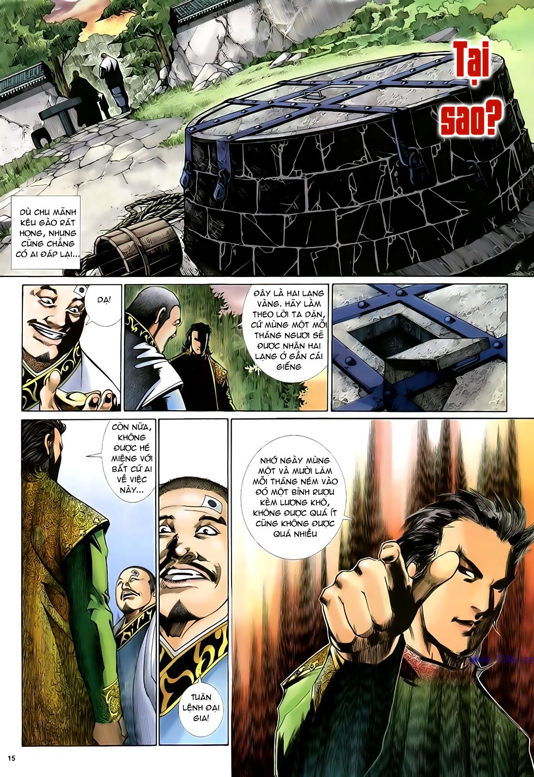Anh hùng vô lệ Chap 29 trang 16
