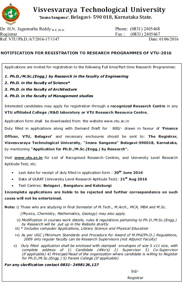 Vtu phd coursework question paper