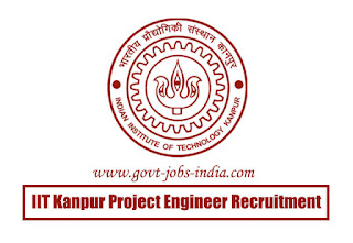 IIT Kanpur Project Engineer Recruitment 2020