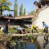 Ribuan ASN Ponorogo Gelar Kerja Bakti Bersihkan Sungai Seputaran Kota Ponorogo