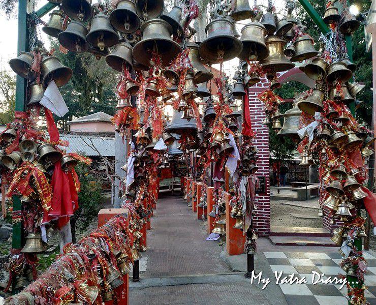 Welcomed with bells - Chitai Golu Devta Temple Almora Uttarakhand