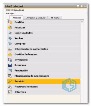 Modulos SAP Business One - Consultoria-SAP